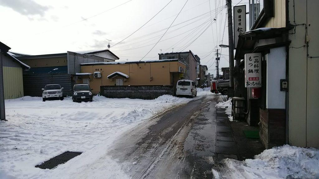 cafeリーフ駐車場