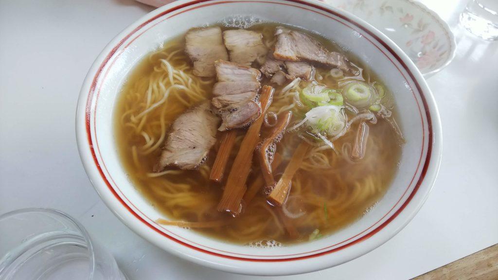福士そば屋 チャーシュー麺