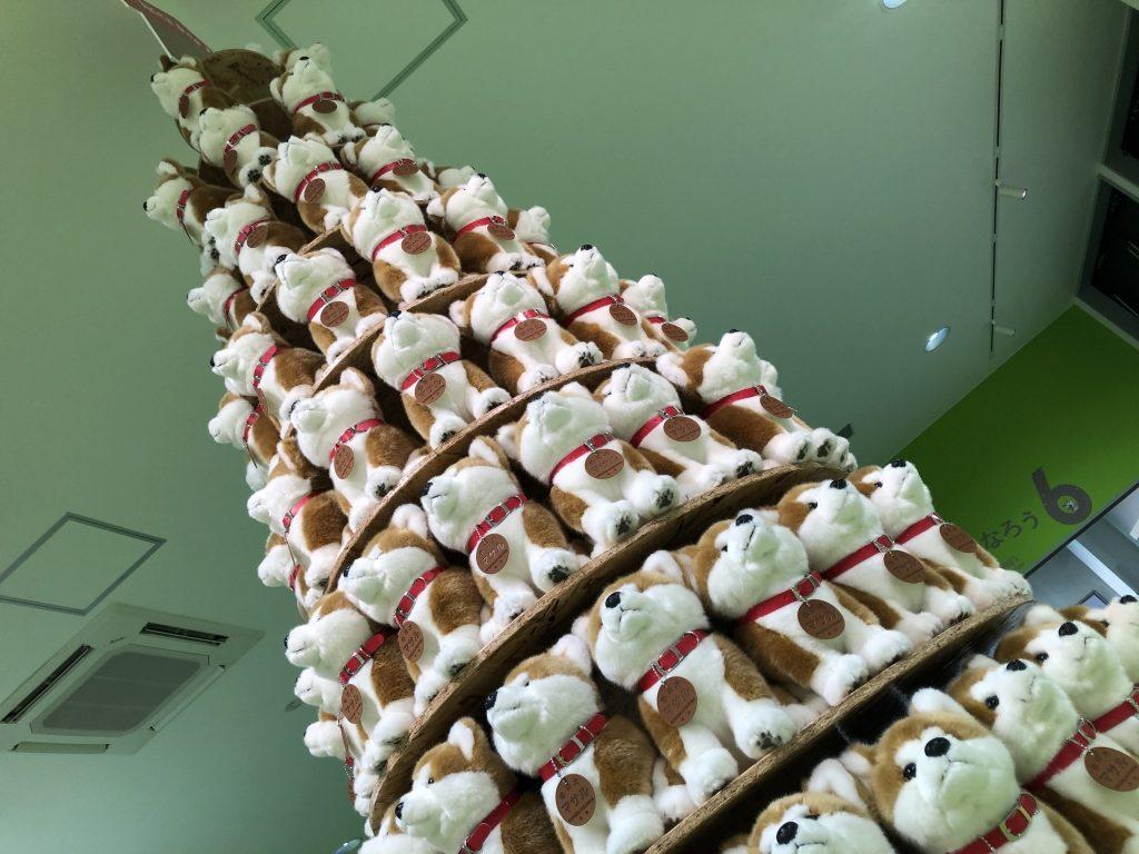 秋田犬タワー