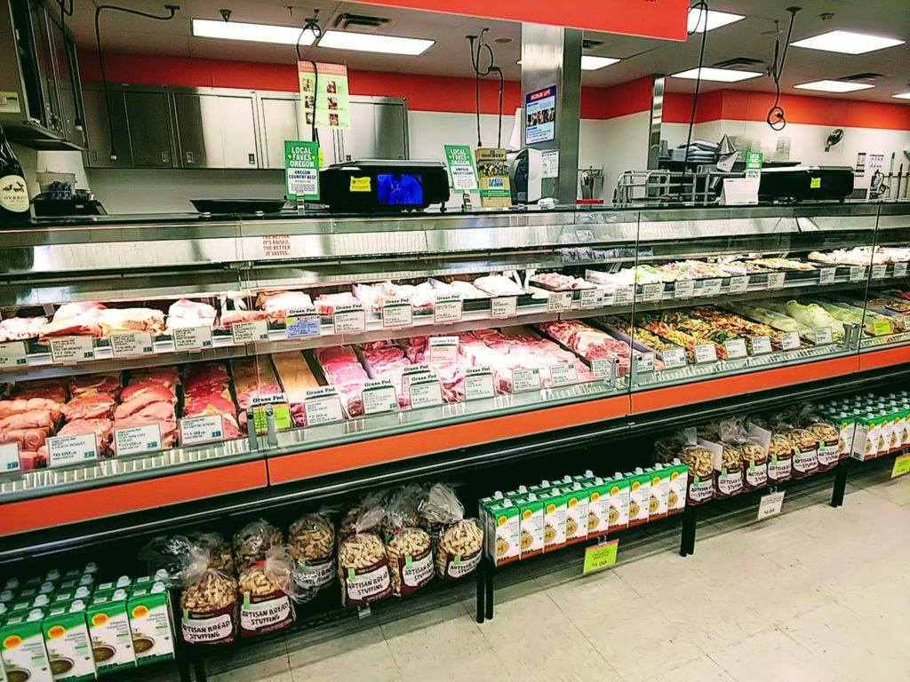 アメリカのスーパー 肉